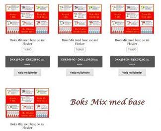 Boks Mix med base