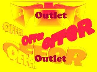 Outlet salg
